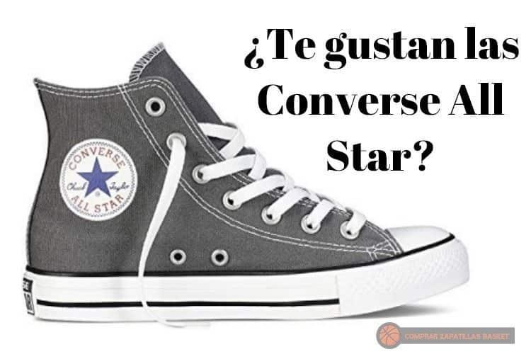 converse all star comprar zapatillas basket