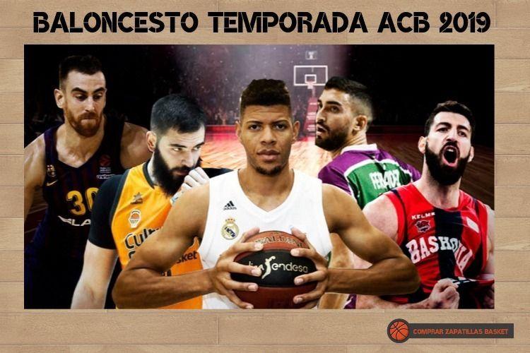 temporada acb 2019-2020 imagen general con varios jugadores