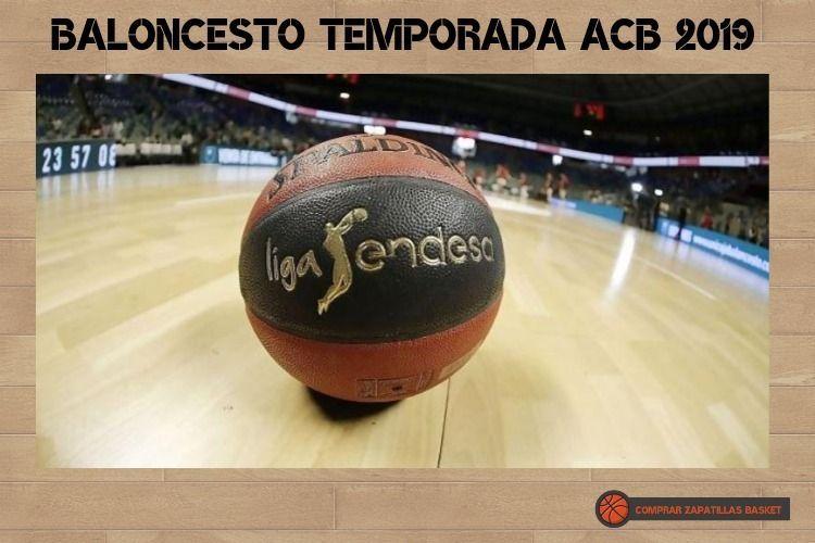 baloncesto temporada acb 2019-2020 imagen de un balón de la liga endesa