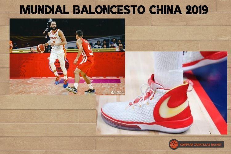 las zapatillas baloncesto de la selección española