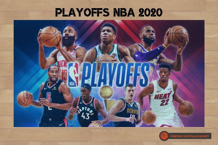 playoffs nba 2020 imagen de los principales jugadores